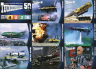 2015 Unstoppable Cards Thunderbirds 50 Years Full Base Set of 54 Trading Cards