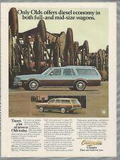 1979 OLDSMOBILE wagon advertisement, Olds CUSTOM CRUISER & Cutlass Cruiser