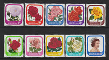 Mint Never Hinged/MNH Flowers Pacific Stamps