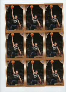 Lot of (17) Jason Williams 1998-99 Topps #201 Rookie Cards AG638