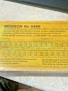 Bergeon Clock Bushing assortment #5488 Hundreds good luck