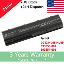 For HP MU06 MU09 SPARE 593554-001 593553-001 Notebook Laptop Battery G6 CQ42