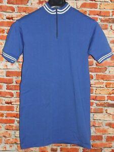 Shirt Bike Shirt Maillot Cycling Heroic Vintage 70'S 80% Knitting Wool