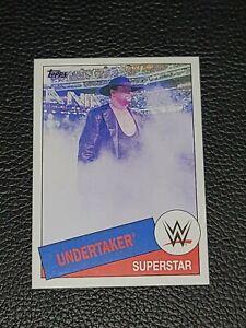 2015 Topps WWE Heritage Undertaker Wrestling Card #97