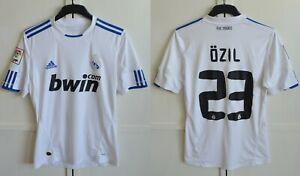 Real Madrid #23 Mesut Ozil 2010/2011 Home Football Shirt Jersey Adidas Size S
