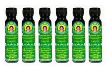 6 X 20 Cc. Original Thai Herbal Massage Green Oil Relief Muscle Pain Liniment