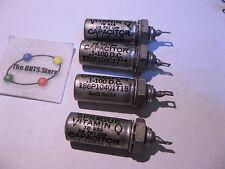 Sprague Vitamin-Q Capacitor .1uF 100VDC Tube Amp Radio 186P10401T15 - NOS Qty 4