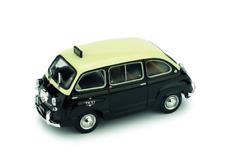 FIAT 600 D MULTIPLA TAXI DI GENOVA 1960 1/43 BRUMM R481