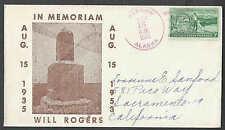 1953 Cover Will Rogers Memoriam Barrow Ak