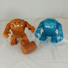 "DC Comics Imaginext Batman Lot of 2 ICEFACE CLAYFACE Figures (4.5"") w/ Hammer"