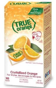 True Citrus Orange 100 Count