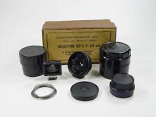 Ultra wide angle rangefinder Russar MP-2 f/5.6 20 LTM39 M39 + viewfinder 20mm