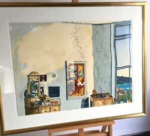 """""""STUDIO CORNER & THE HARBOUR"""" LTD ED 25 of 51 ONLY - Ex ERNST & YOUNG COLLECTION"""