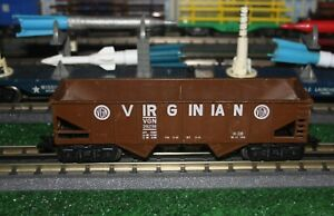 Marx Virginian Coal Hopper in Medium Brown in Excellent Condition