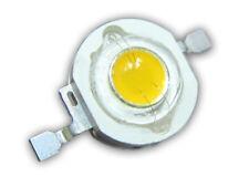 3 Stück 1W Power LED warm-weiß 2700K-3200K 100 lm, Uf=3,3V, Imax=350mA, Emitter