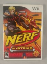 Nerf N-Strike Wii Game complete with game, case, and manual.