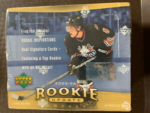 2005-06 Upper Deck Rookie Update Hobby Hockey Box Factory Sealed
