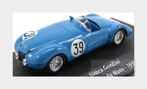 Simca Huit Team Gordini #39 24H Le Mans 1939 A.Gordini EDICOLA 1:43 ED2235019