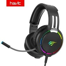 HAVIT Wired RGB Headset Gamer PC 3.5mm PS4 Headsets Surround Sound & HD...