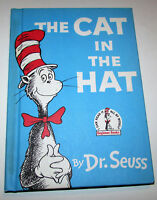 THE CAT IN THE HAT BY DR SEUSS 1957 1ST EDITION 2ND PRINTING - NEAR MINT - RARE!