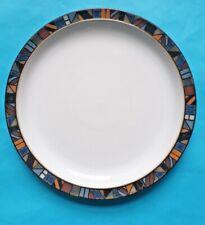 Vintage Denby 'Marrakesh' 21.5cm Dessert Plate, Designed by Claire Bernard