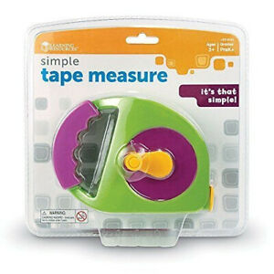 Learning Resources Simple Tape Measure, Measures 1.2m, Ages 3+. Free Delivery