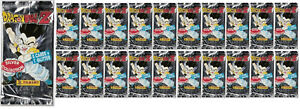 Dragon Ball Z Silver Cards Lotto 20 Bustine Panini