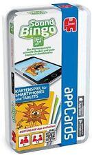 SOUND BINGO Kartenspiel für SmartPhones und Tables Appcards Ab 4 iOs Android NEU