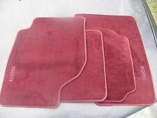Mazda 929 New Factory Floor Wine Carpet Mats (0000-88-7389-11) 1992 To 1995