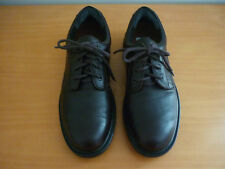 MEN'S HUSH PUPPIES BOUNCE TECHNOLOGY DARK BROWN LEATHER LACE UP SHOES SIZE 7.5EE