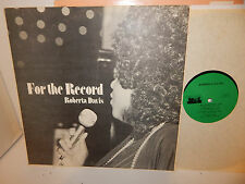 ROBERTA DAVIS FOR THE RECORD 1975 Private Cookhouse Recordings Northern Soul LP