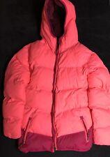 Champion Pink Fleece Lined  Puffy Jacket Size XL