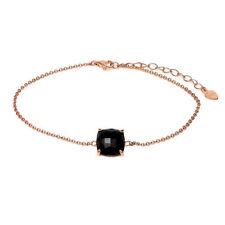 Onyx Silver Plated Fashion Bracelets