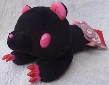 "Official Chax GP TAITO Gloomy Bear Black Laying Soft Plush Toy Japan Kawaii 5"""