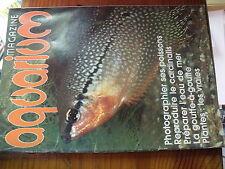µ? Revue Aquarium Magazine n°10 Photographier poisson Repro Cardinalis Artemias