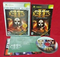 Star Wars Knights of the Old Republic II 2 - Microsoft XBOX OG Game 1 Owner