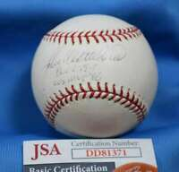 John Wetteland Jsa Coa Autograph Major League Oml Hand Signed Baseball