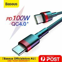 Baseus 100W Type C to USB C Cable QC PD Quick Charge Cable for Samsung Mackbook