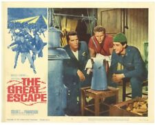 THE GREAT ESCAPE REPRO LOBBY CARD IMAGE STEVE MCQUEEN JAMES GARNER JUD TAYLOR