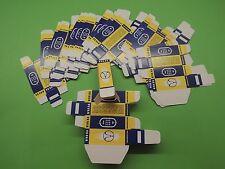 25 x Vintage TESLA CARTON BOX for Radio Tubes 6267, EF86 , EF806S , E83CC, E88CC