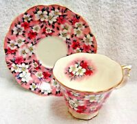 Royal Albert Garden Party Series Pink Surprise Cup and Saucer