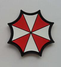 Hot  Resident Evil Umberlla LOGO PVC 3D Rubber   Patch SK  11