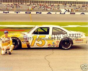 GEOFF BODINE 1992 # 15 FORD DAYTONA NASCAR AUTO RACING 8X10 PHOTO