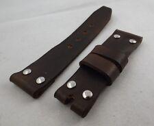 Pam xx1 - cinturino artigianale in pelle per  Panerai tagliati a mano vero cuoio