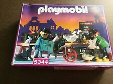 PLAYMOBIL 5344 VICTORIAN PET SHOP MARKET STAND NEW IN SEALED BOX