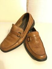 Rockport Penny Light Brown Leather Loafers 501838 Size 11 M