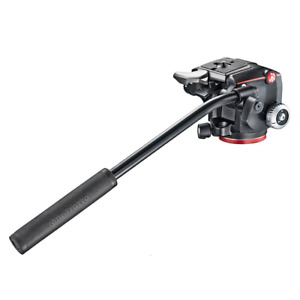 Manfrotto XPRO Fluid Two-Way Tripod Head with Fluidity Selector-Black
