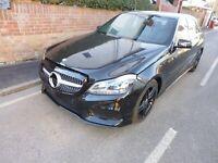 Mercedes E250 CDI AMG Black Edition Un- Recorded  No Reserve Auction