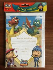 20x Einladungskarten Mike der Ritter Mike the Knight Kinder Geburtstag  >NEU<