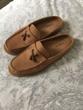 Womens LL Bean Leather Shoes, Brown, Size 8, EUC